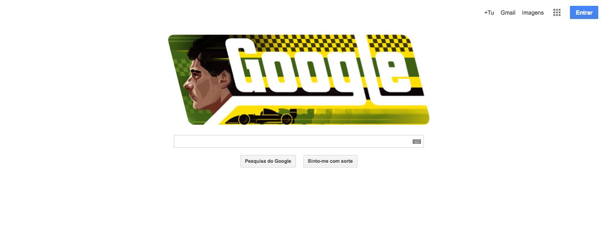 Doodle Ayrton Senna