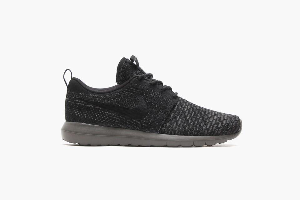 Nike flyknit roshe run classe e minimalismo num par de t 233 nis bons