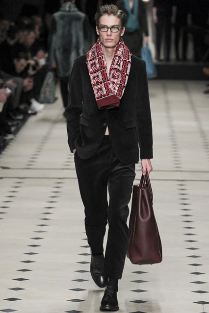 Bons Rapazes Burberry Milan Fashion Week
