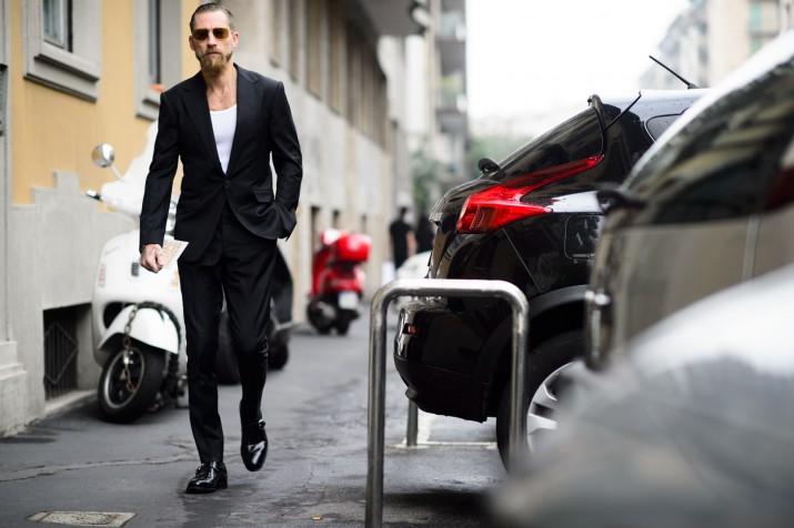 Bons Rapazes Milan fashion Week Street Style 11