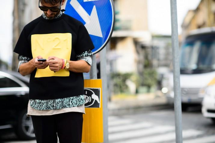 Bons Rapazes Milan fashion Week Street Style 14