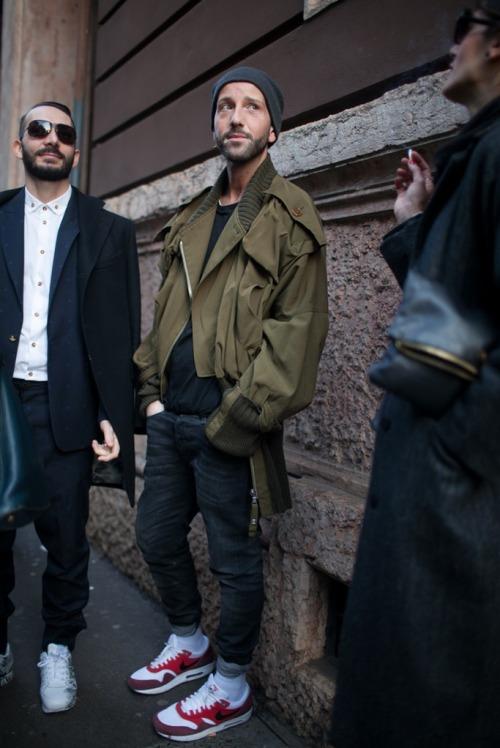 Bons Rapazes Milan fashion Week Street Style 15