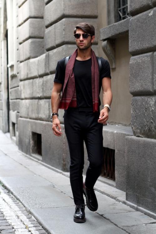Bons Rapazes Milan fashion Week Street Style 19