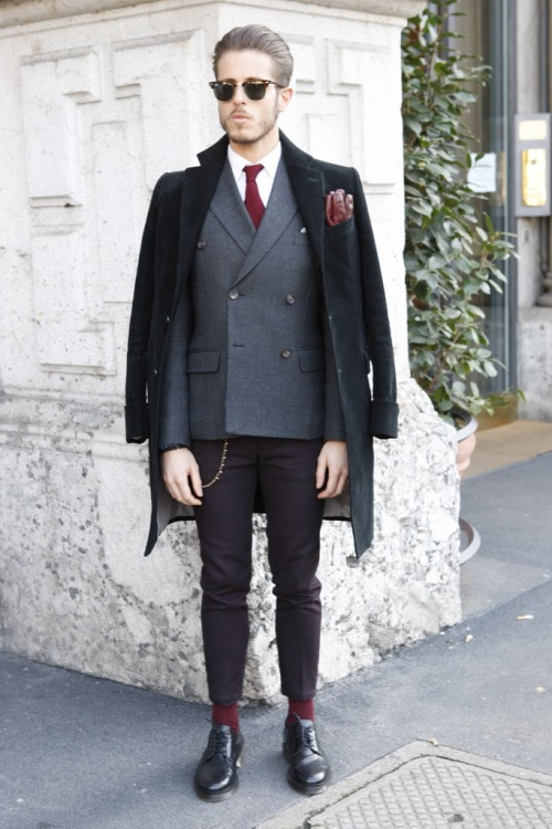 Bons Rapazes Milan fashion Week Street Style 22