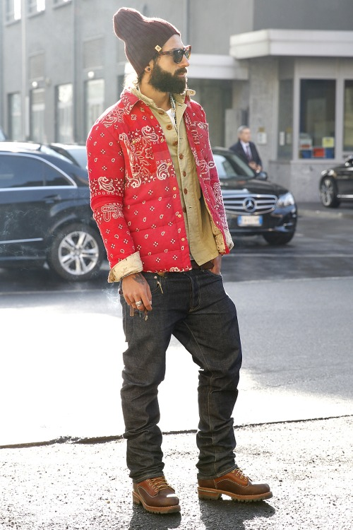 Bons Rapazes Milan fashion Week Street Style 25