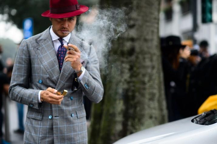 Bons Rapazes Milan fashion Week Street Style 9
