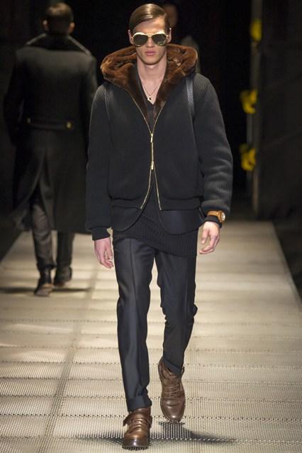 Bons Rapazes Versace Milan Fashion Week
