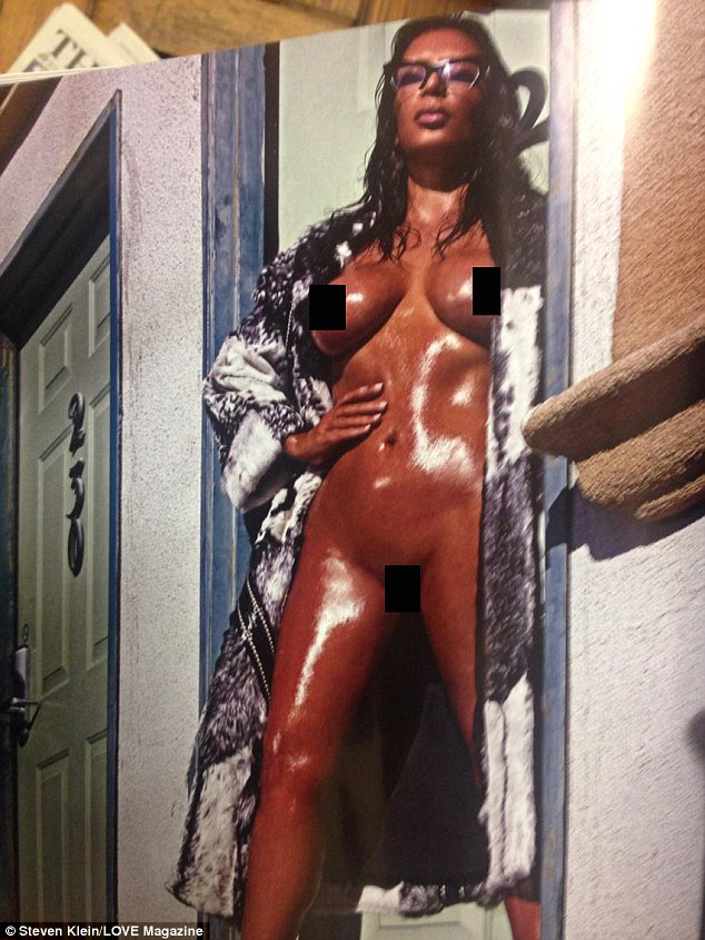 Girl nude in shower