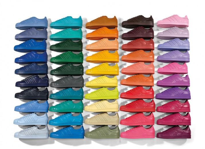 adidas | Pharrell Williams x Superstar Supercolor Bons Rapazes