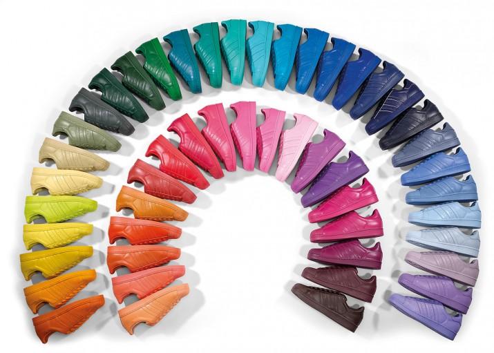 Tenis adidas Superstar Supercolor Pharrell   Tenis adidas