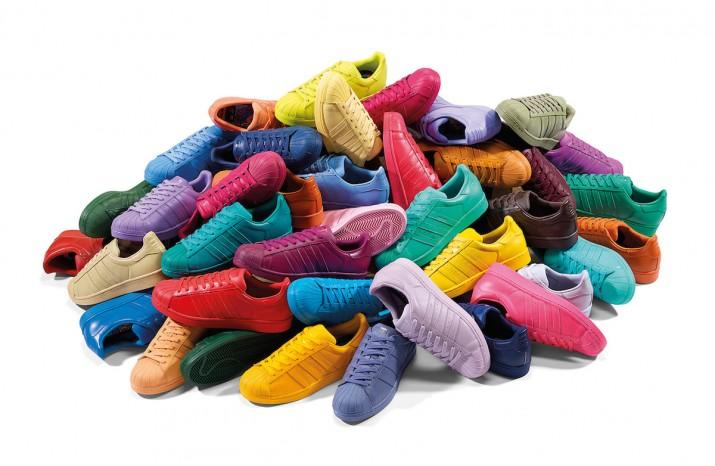 adidas   Pharrell Williams x Superstar Supercolor Bons Rapazes