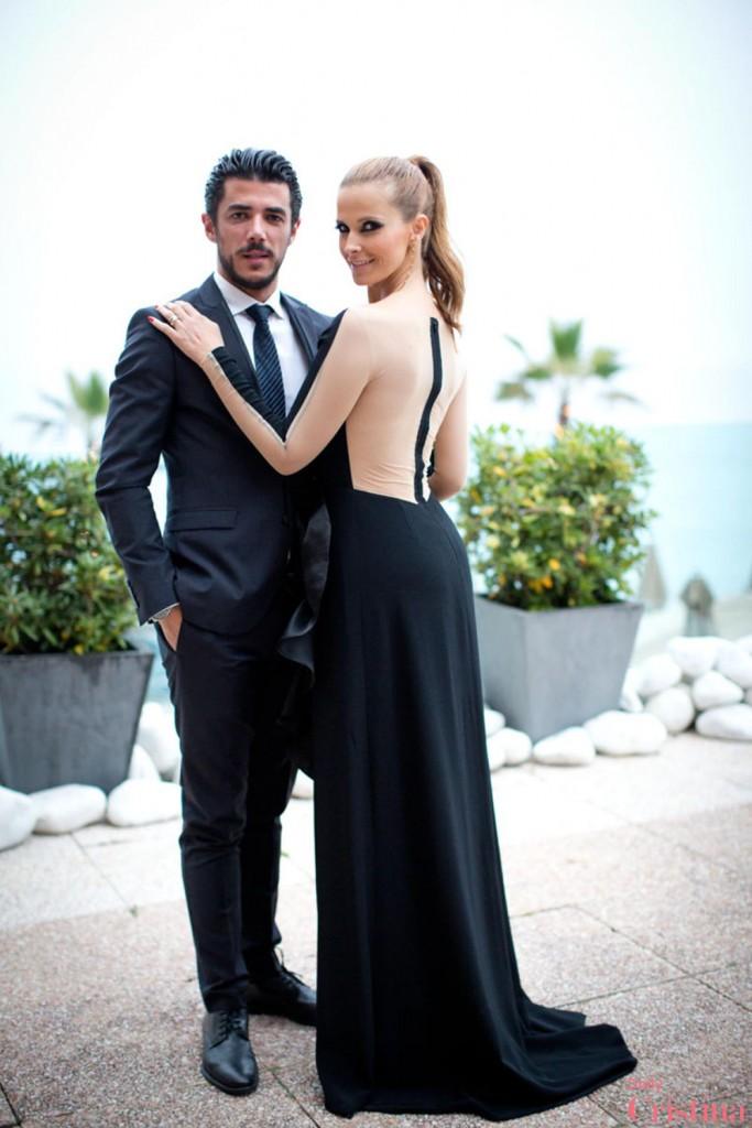 Tiago Froufe Cristina ferreira Cannes