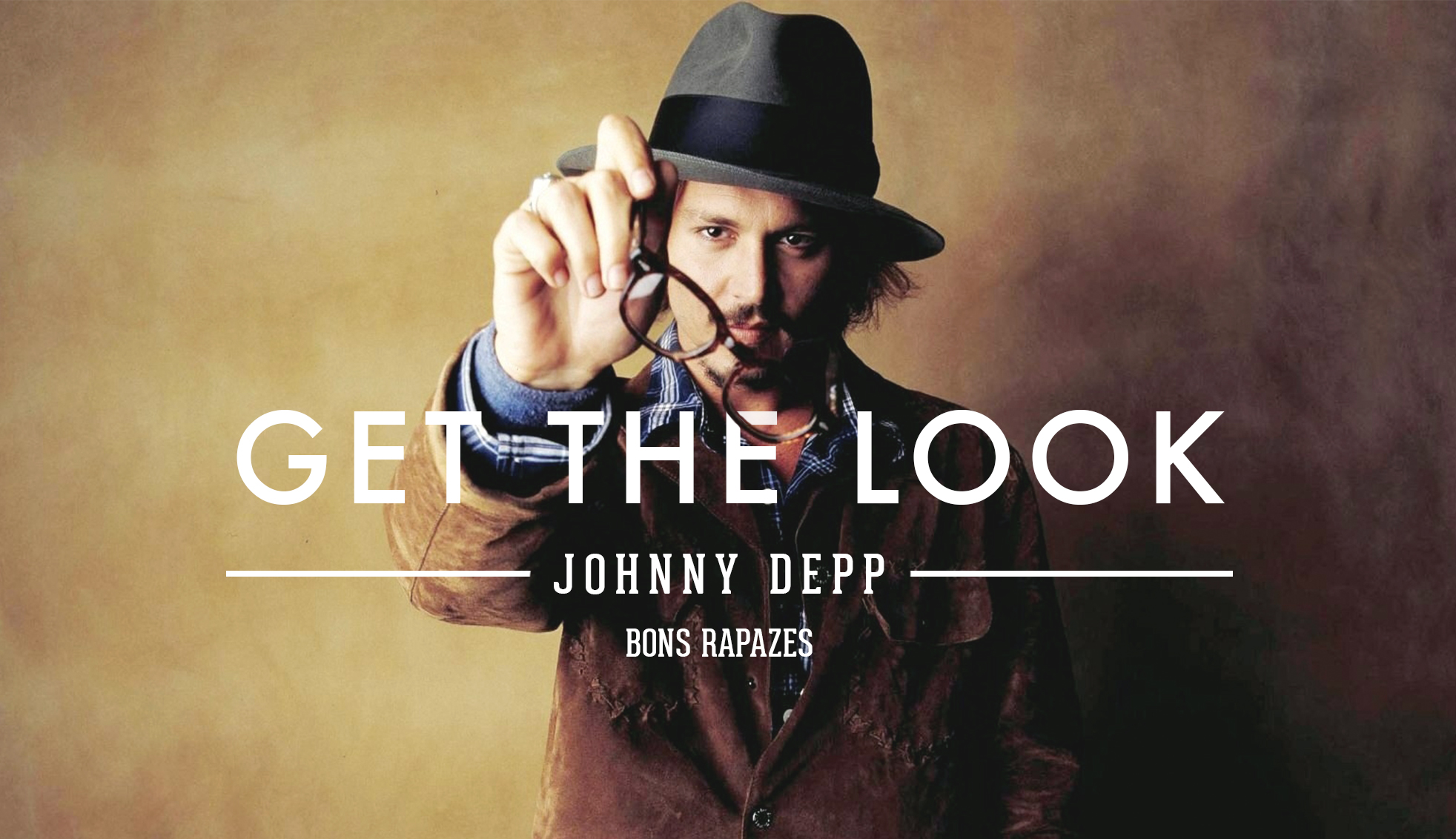 Bons Rapazes Get the Look Johnny Depp