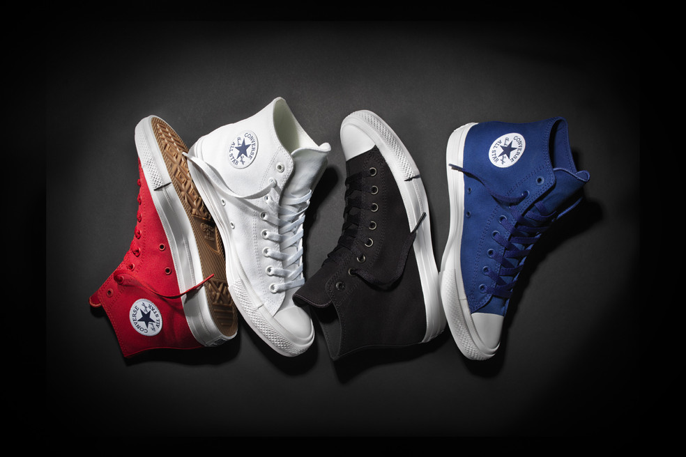 Converse Unveils New Chuck Taylor All Star II With Lunarlon