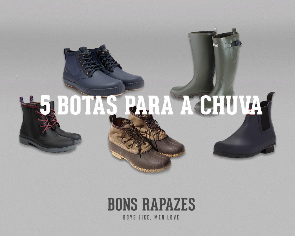 Bons Rapazes Rain Boots