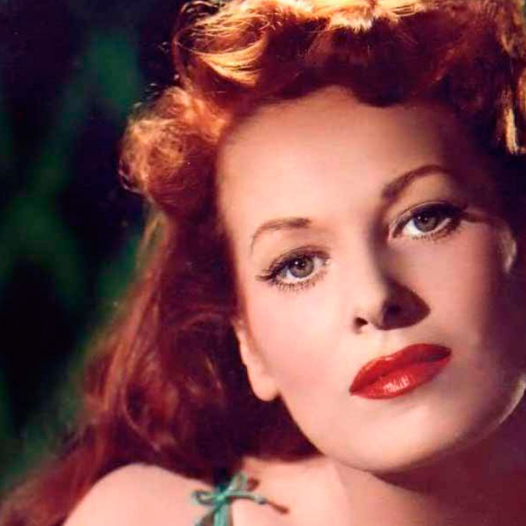 Maureen O'Hara. Photo courtesy of Sherry FitzGerald