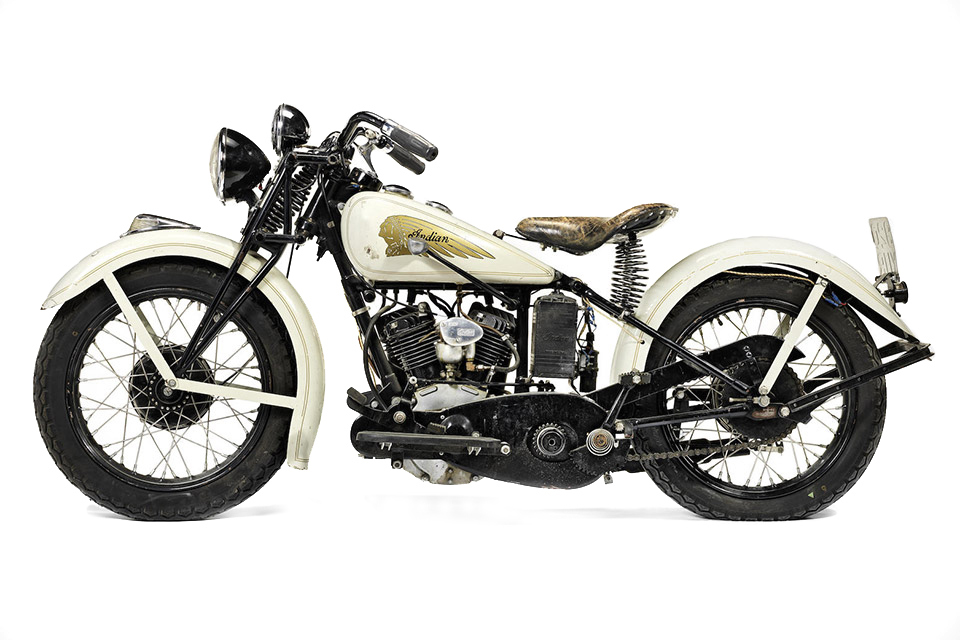 Bons Rapazes Steve Mcqueens 1934-indian-sport-scout-motorcycle 1