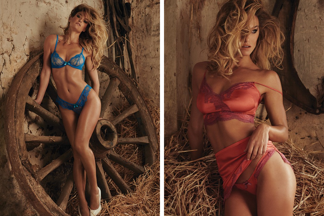 Bar refaeli agent provocateur ss16 8