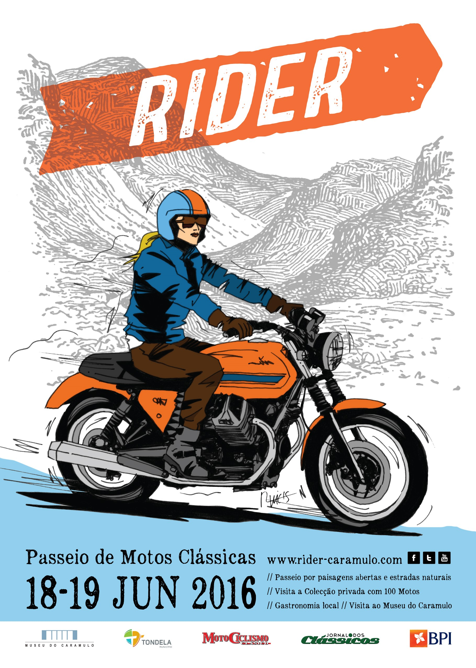 Cartaz Rider 2016