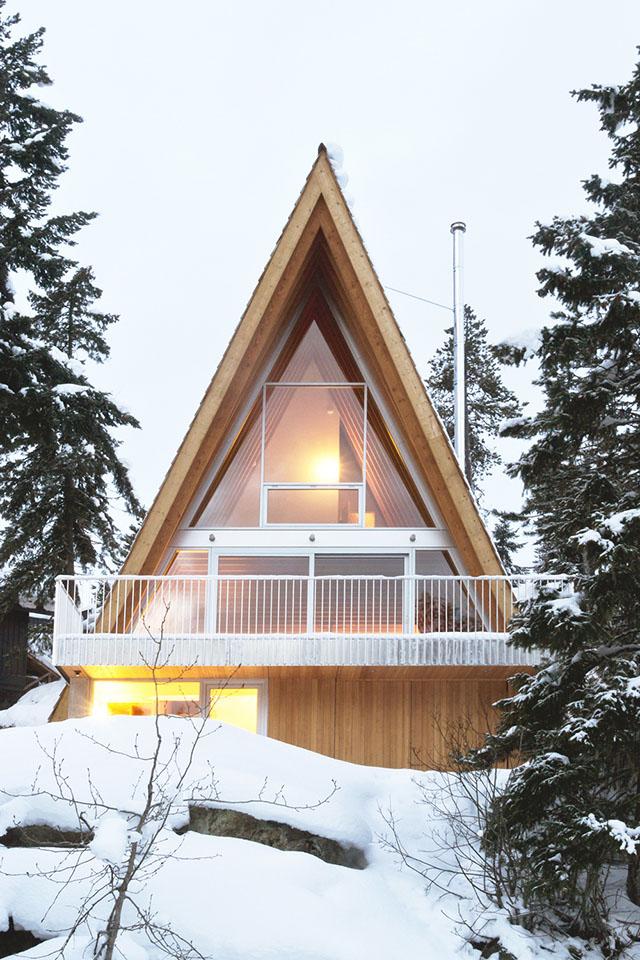 Scott and Scott Architects Whistler Cabin