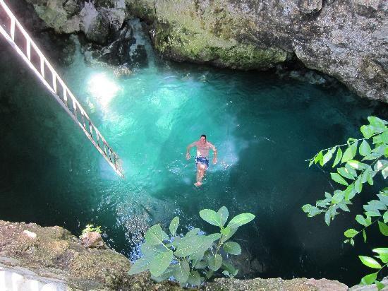 piscinas naturais mais incríveis do mundo - Blue Hole Mineral Spring