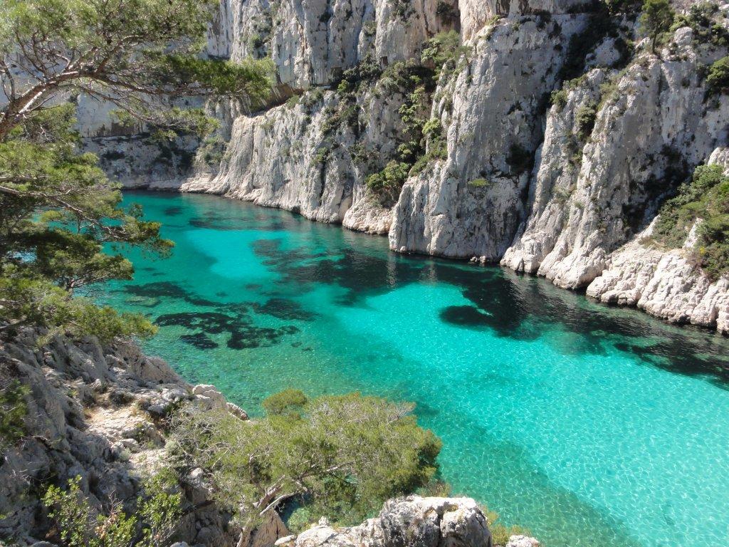 piscinas naturais mais incríveis do mundo - Calanque d'En-Vau