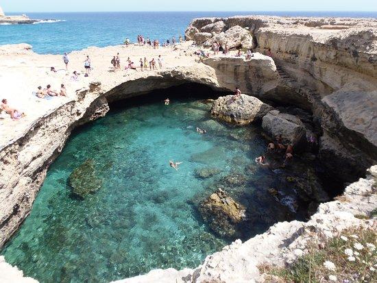 piscinas naturais mais incríveis do mundo - Grotta della poesia