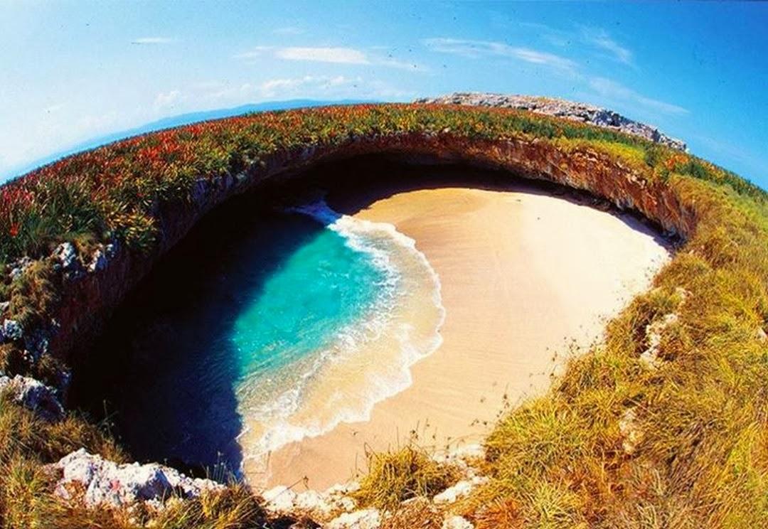 piscinas naturais mais incríveis do mundo - Hidden Beach
