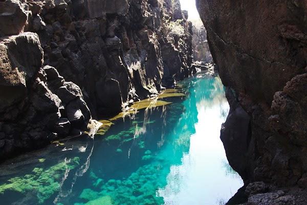 piscinas naturais mais incríveis do mundo - Las Grietas