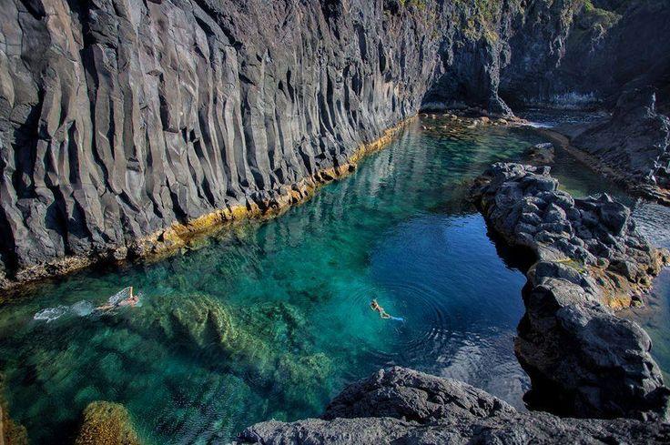piscinas naturais mais incríveis do mundo - Poça Simão Dias