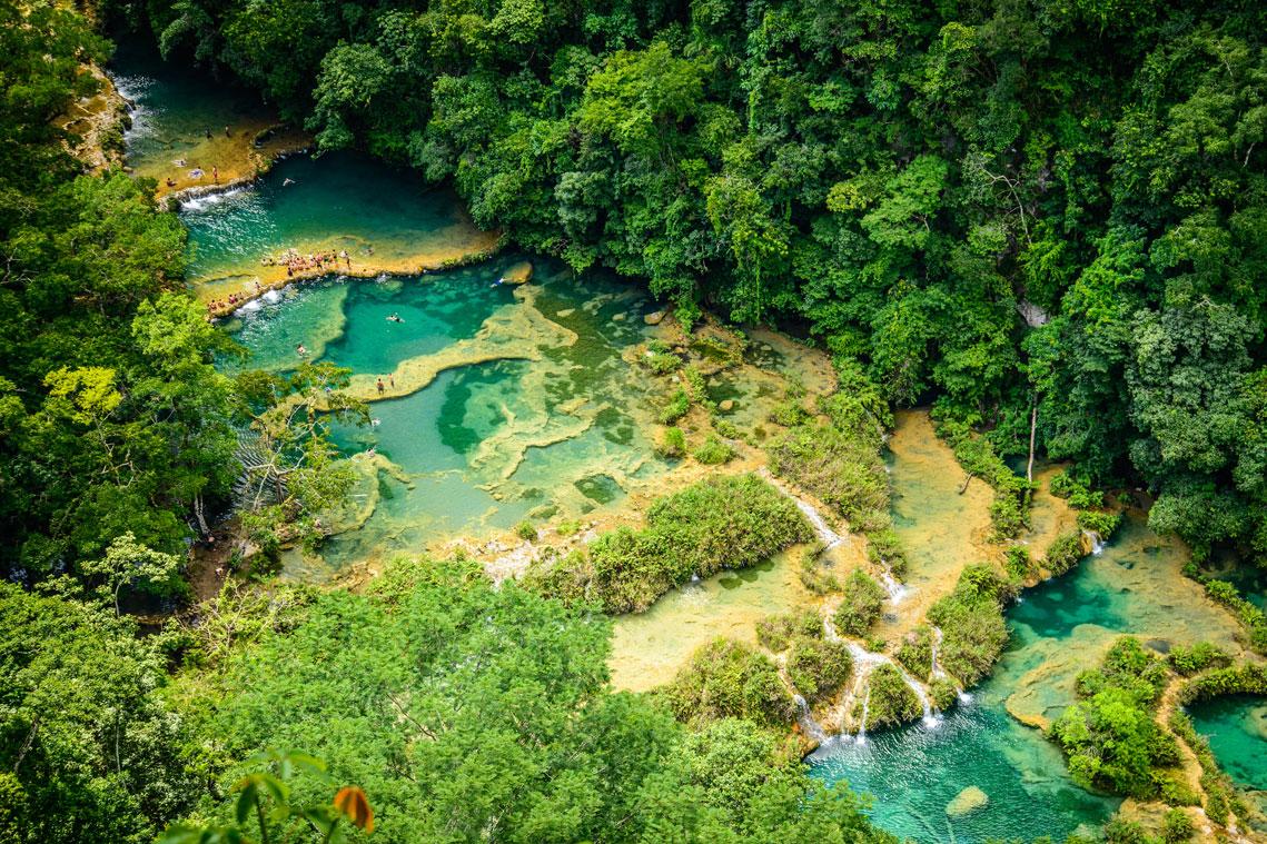 piscinas naturais mais incríveis do mundo - Semuc Champey