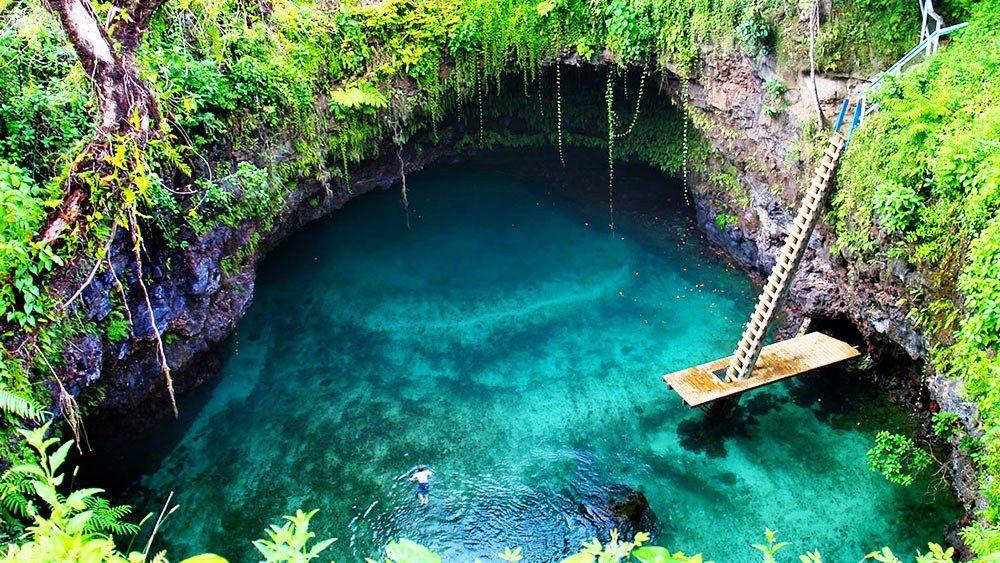 piscinas naturais mais incríveis do mundo - To sua Ocean Trench