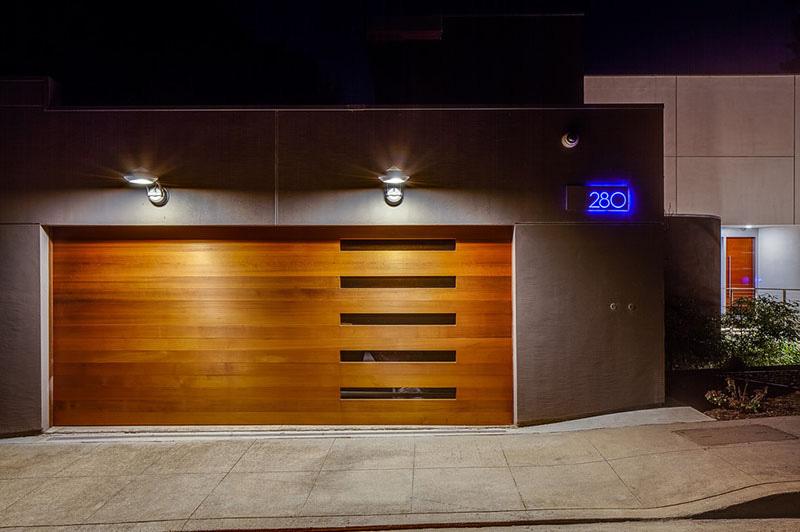 garage door 12