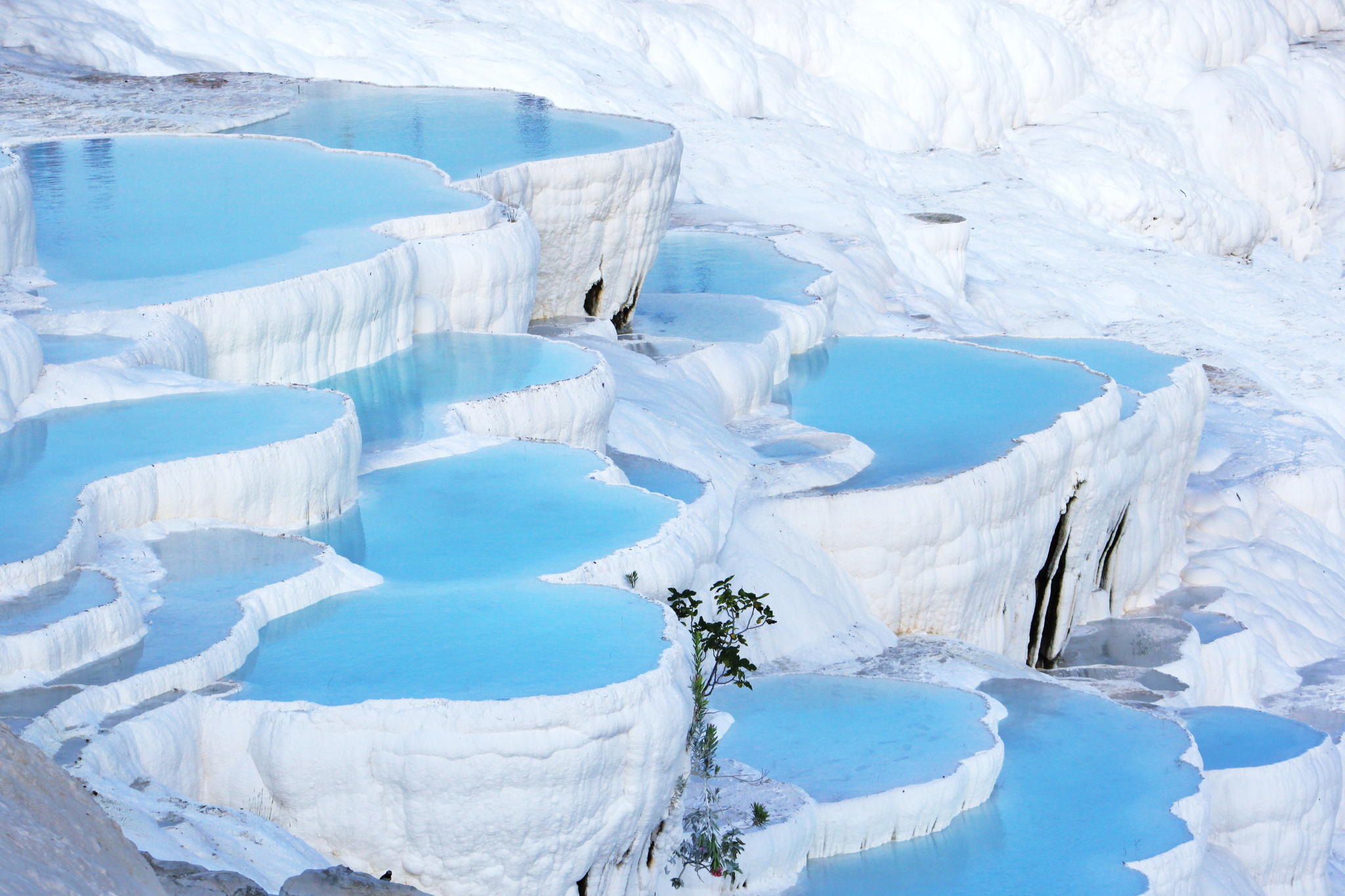 piscinas naturais mais incríveis do mundo - pamukkale