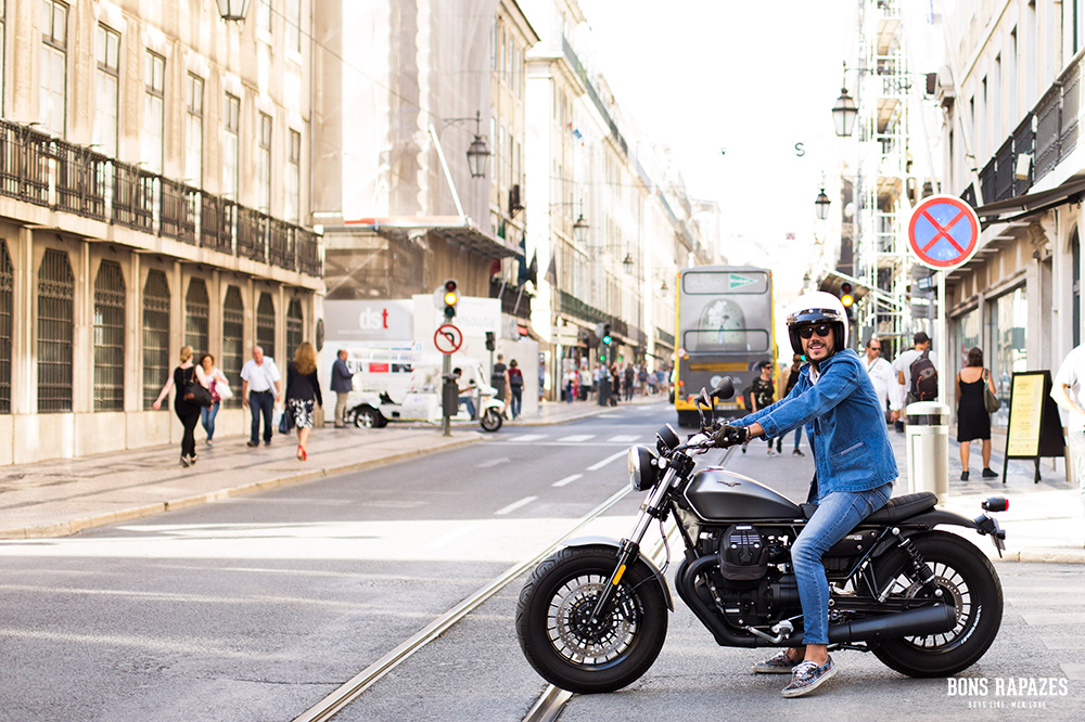 Moto Guzzi V9 bobber - Bons Rapazes Tiago Froufe