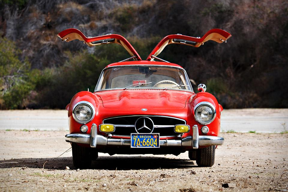 Especialmente Quando Se Trata De Relíquias Como Este Mercedes Benz 300 Sl  Gullwing ...