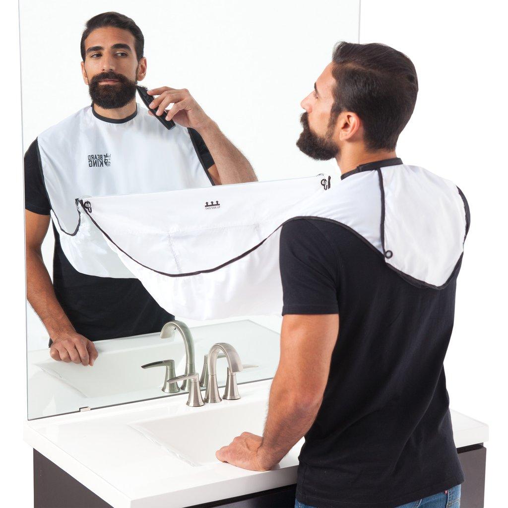 Fazer a barba sem sujar o WC