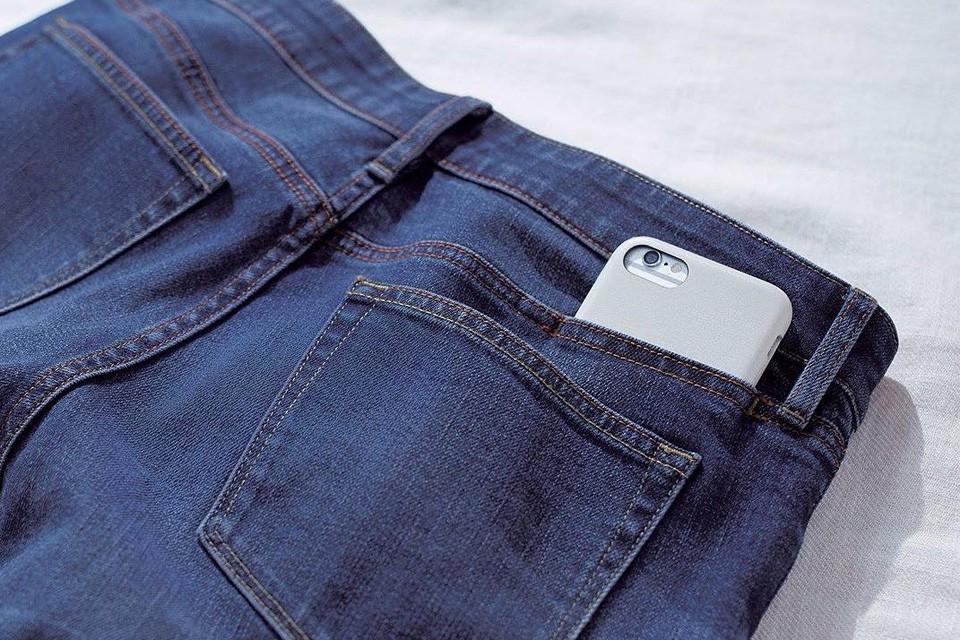 jeans com 6 bolsos