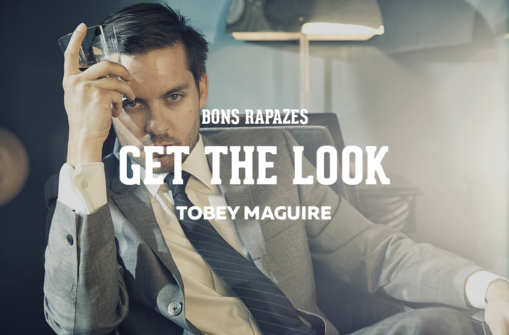 GET THE LOOK   Tobey Maguire - Bons Rapazes Tobey Maguire 2017