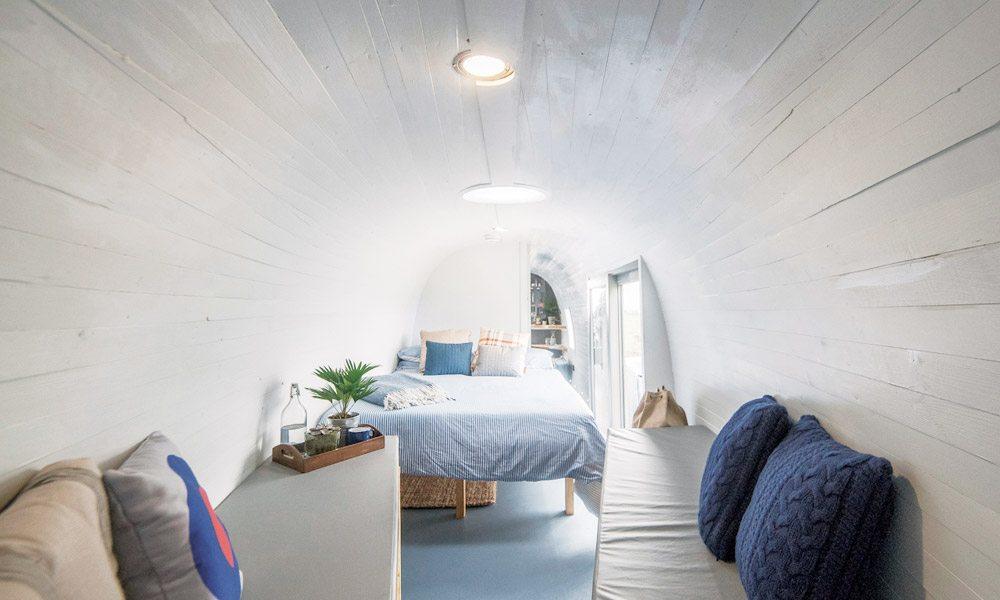 campismo de luxo no Airbnb