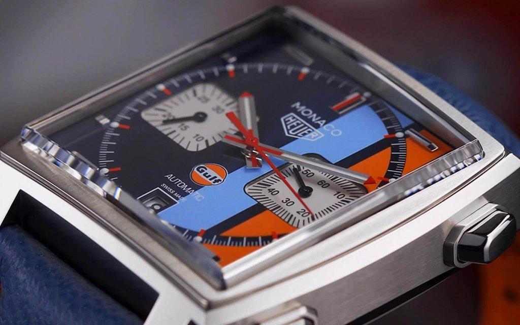 Relógio que Steve McQueen usou