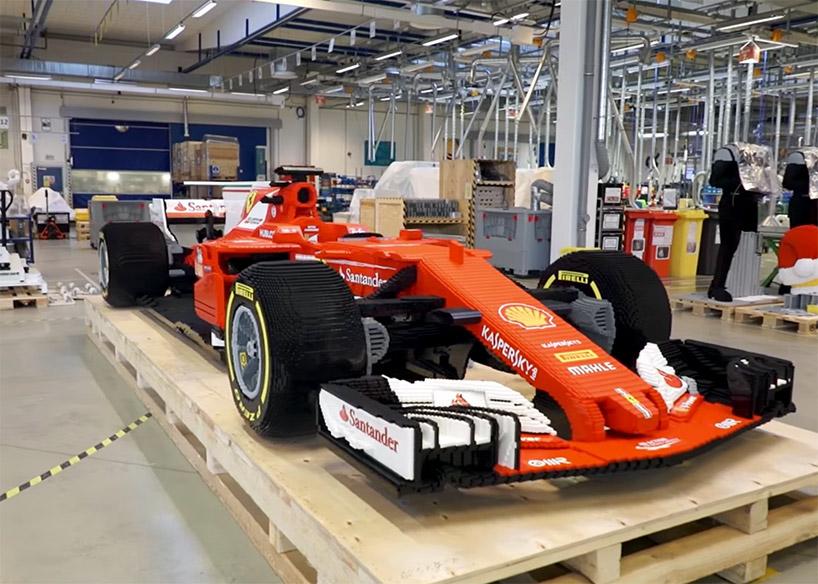 LEGO construiu um Ferrari F1