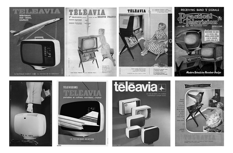recriação moderna da Teleavia