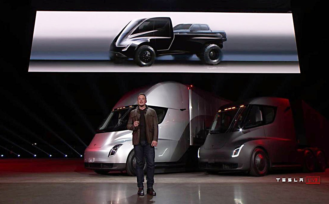 elon musk promete uma tesla pick up bons rapazes. Black Bedroom Furniture Sets. Home Design Ideas