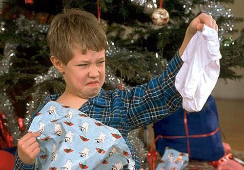 prenda de Natal que não gostamos