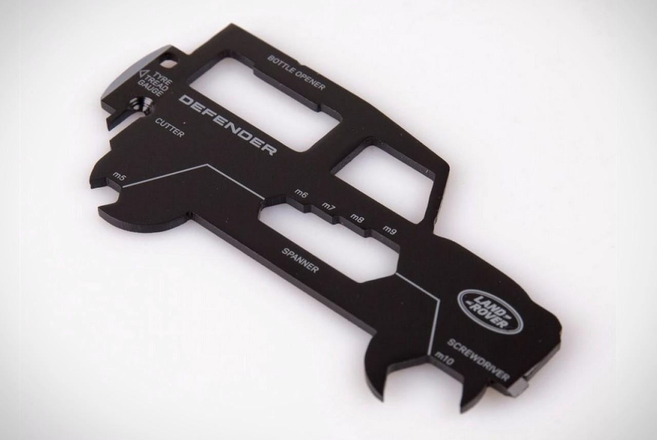 ferramenta multifunções em forma de Land Rover Defender