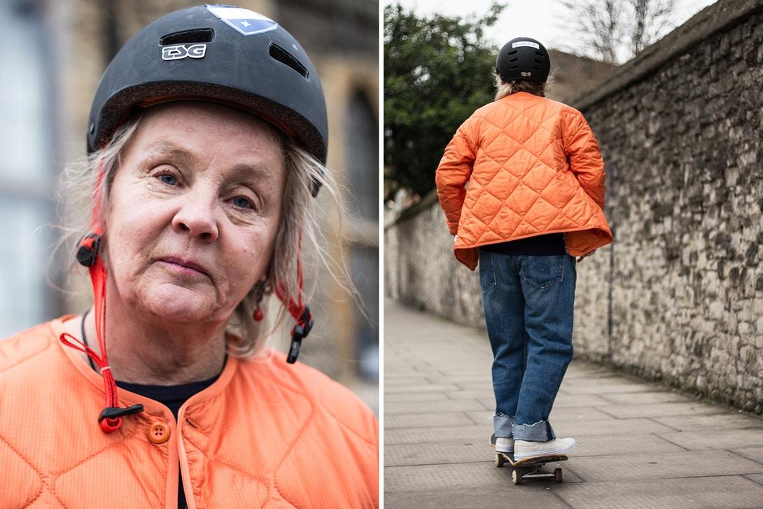skater de 64 anos