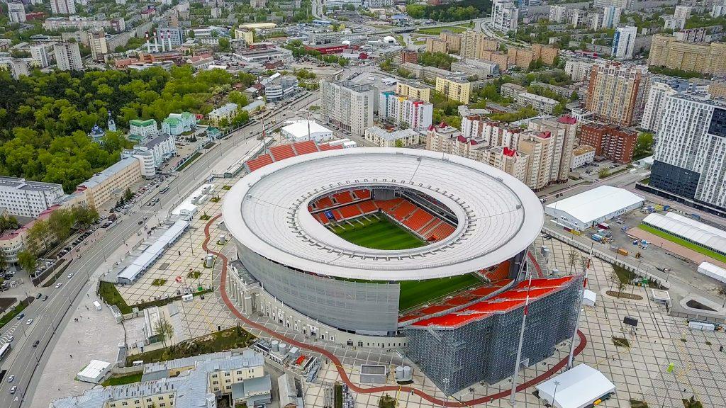 estádios do mundial 2018 - Ekaterinburg Arena