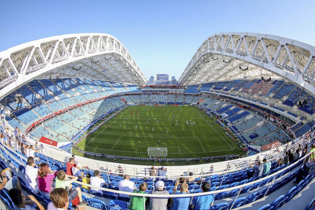 estádios do mundial 2018 - Fisht Stadium