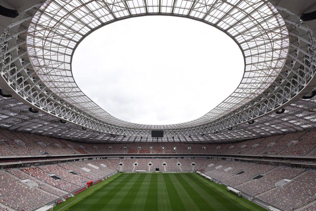 estádios do mundial 2018 - Luzhniki